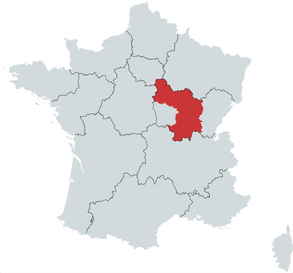 Bourgogne vinregion