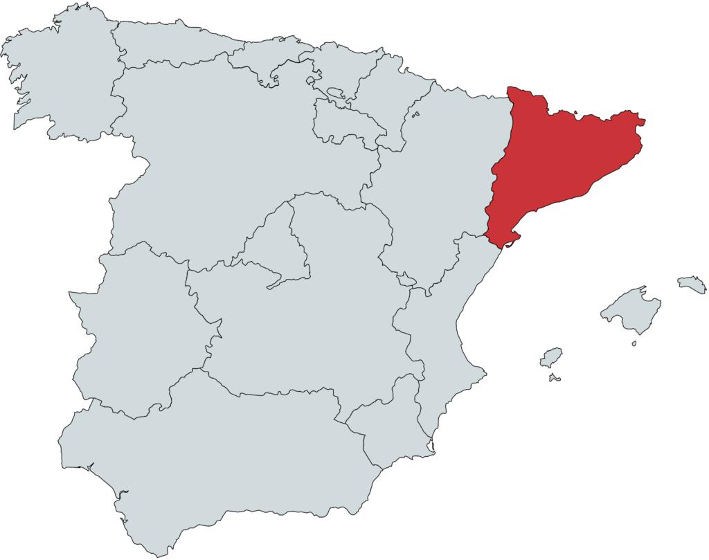 Katolonien vinregion