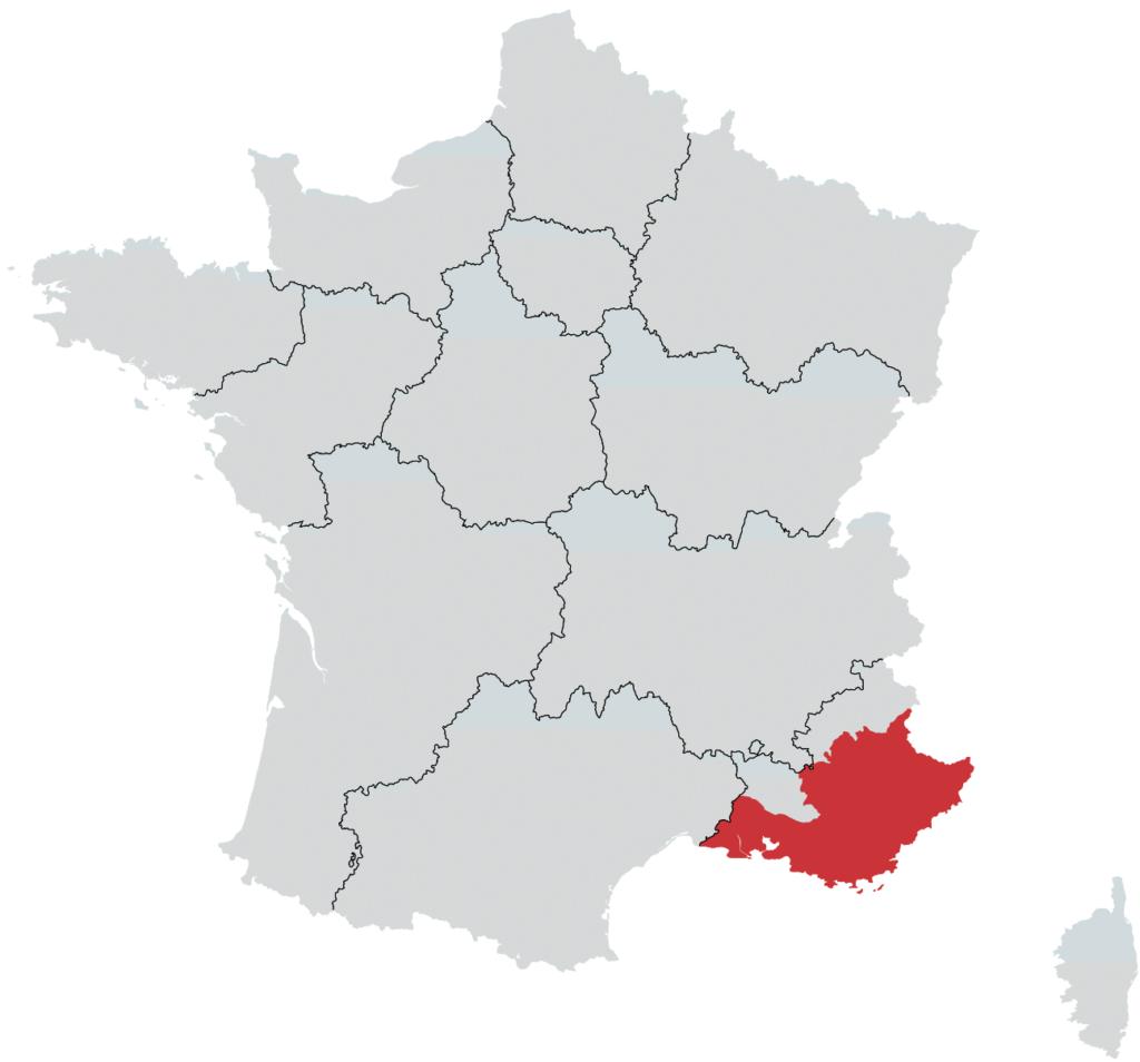 Provence vinregion